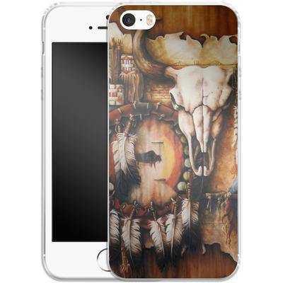 Apple iPhone SE Silikon Handyhuelle - Teri Rosario - Echo of the Buffalo von TATE and CO