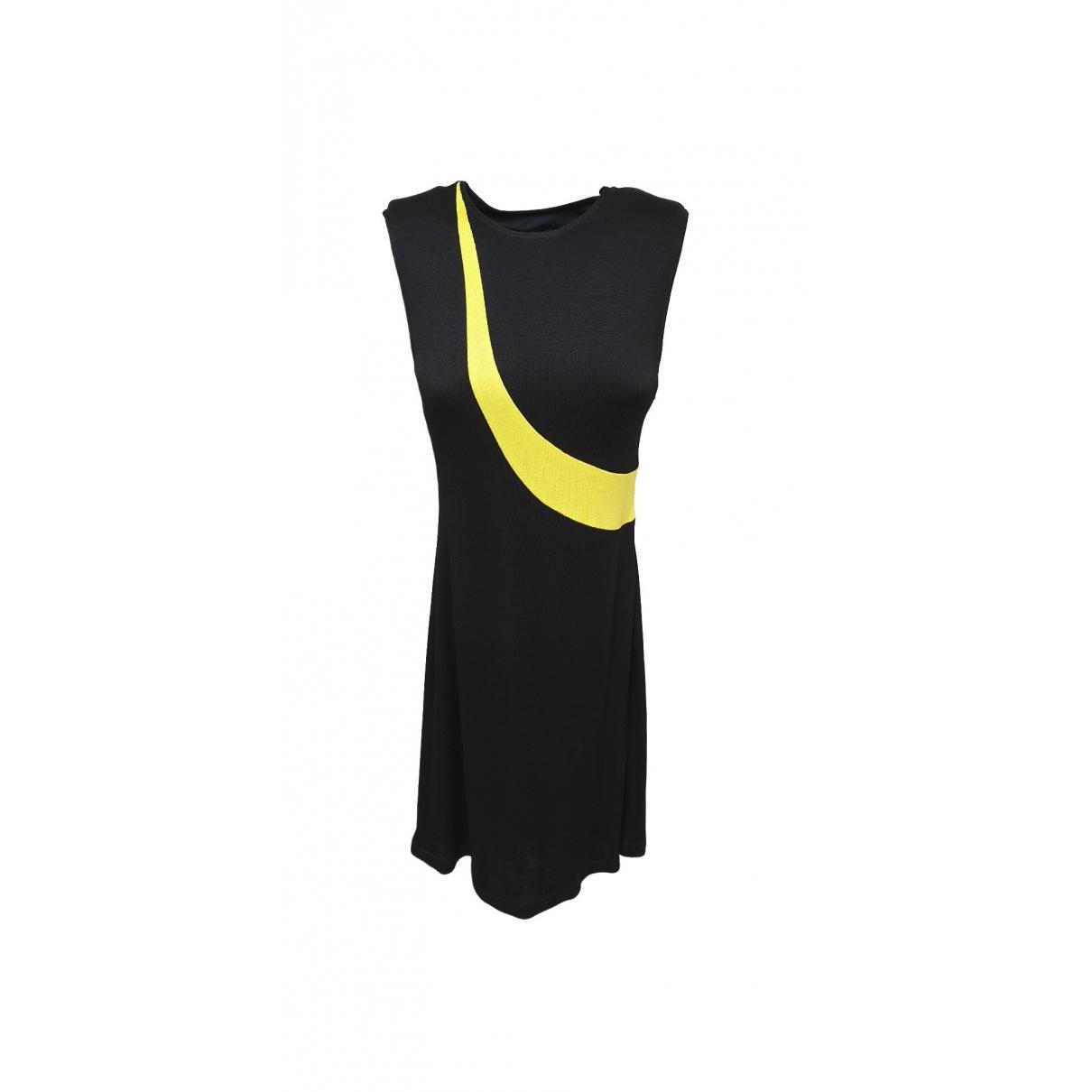 Gianni Versace \N Kleid in  Schwarz Synthetik