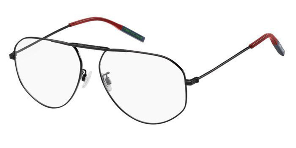 Tommy Hilfiger TJ 0021 003 Men's Glasses Black Size 58 - Free Lenses - HSA/FSA Insurance - Blue Light Block Available