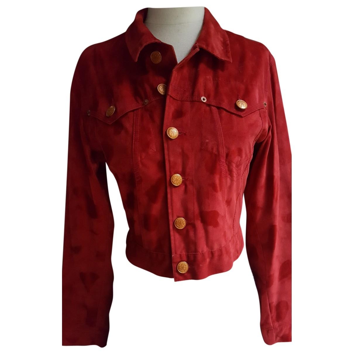 Jean Paul Gaultier \N Red Velvet jacket for Women 36 FR