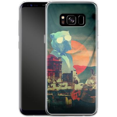 Samsung Galaxy S8 Silikon Handyhuelle - Abracadabra von Ali Gulec