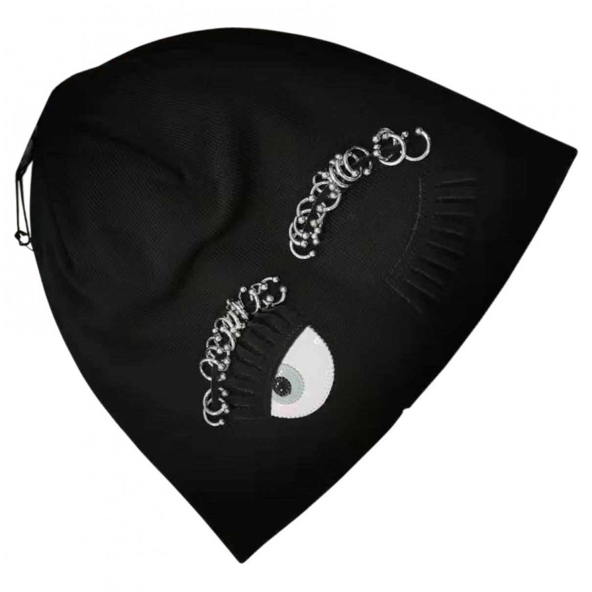 Chiara Ferragni \N Black Cotton hat for Women M International
