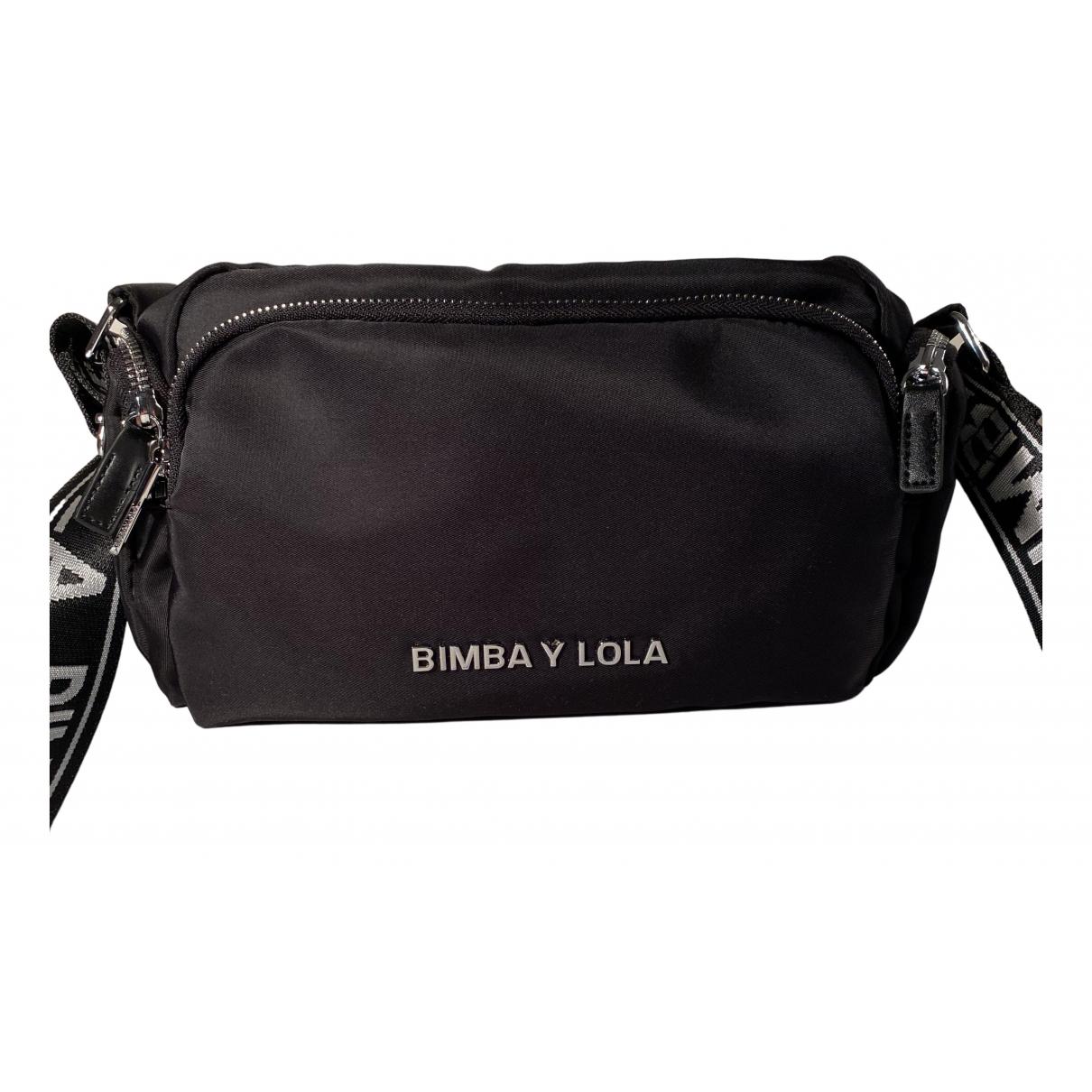 Bimba Y Lola - Pochette   pour femme en toile - noir