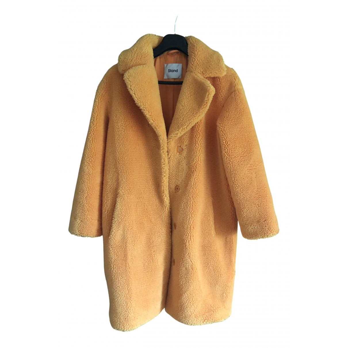Stand Studio \N Yellow Faux fur coat for Women S International