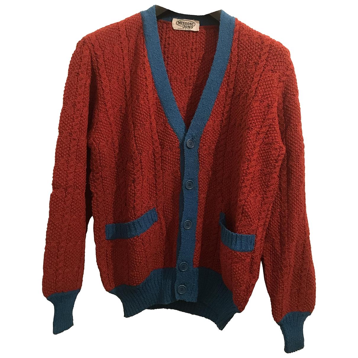 Missoni - Pulls.Gilets.Sweats   pour homme en laine - rouge