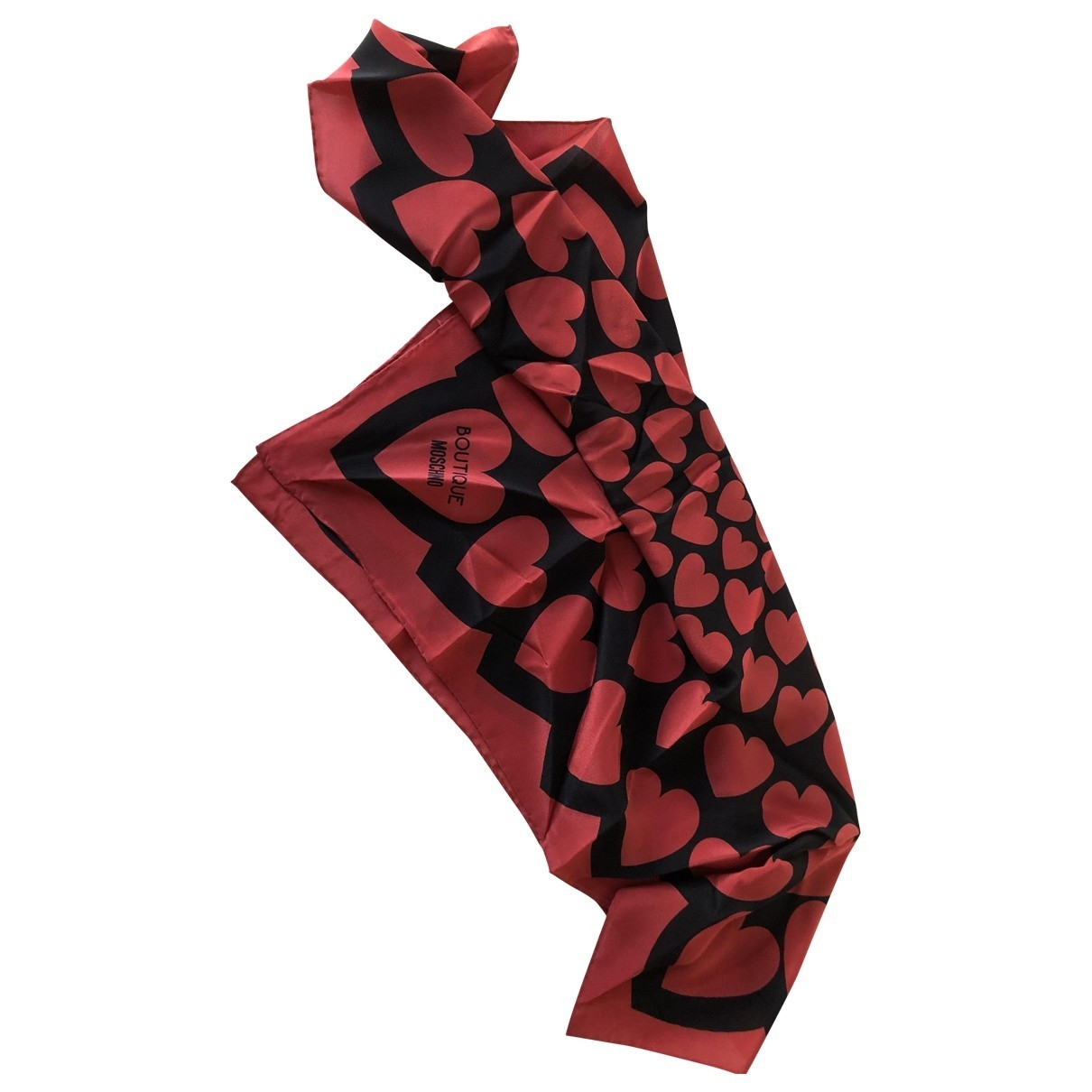 Moschino \N Red Silk scarf for Women \N