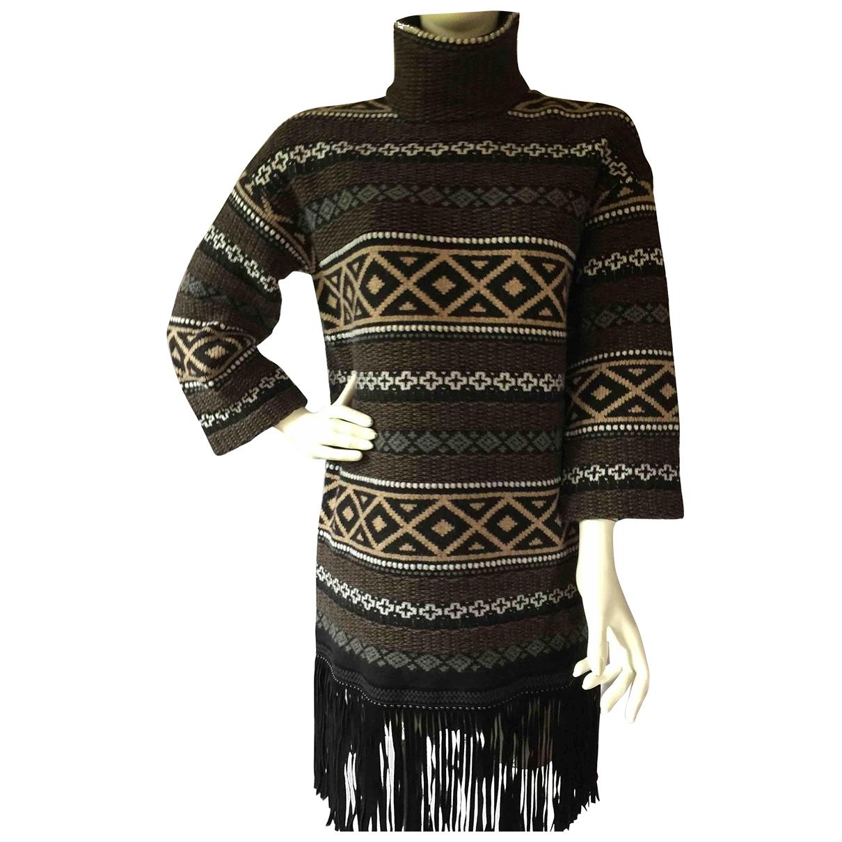 Fay \N Kleid in  Bunt Wolle