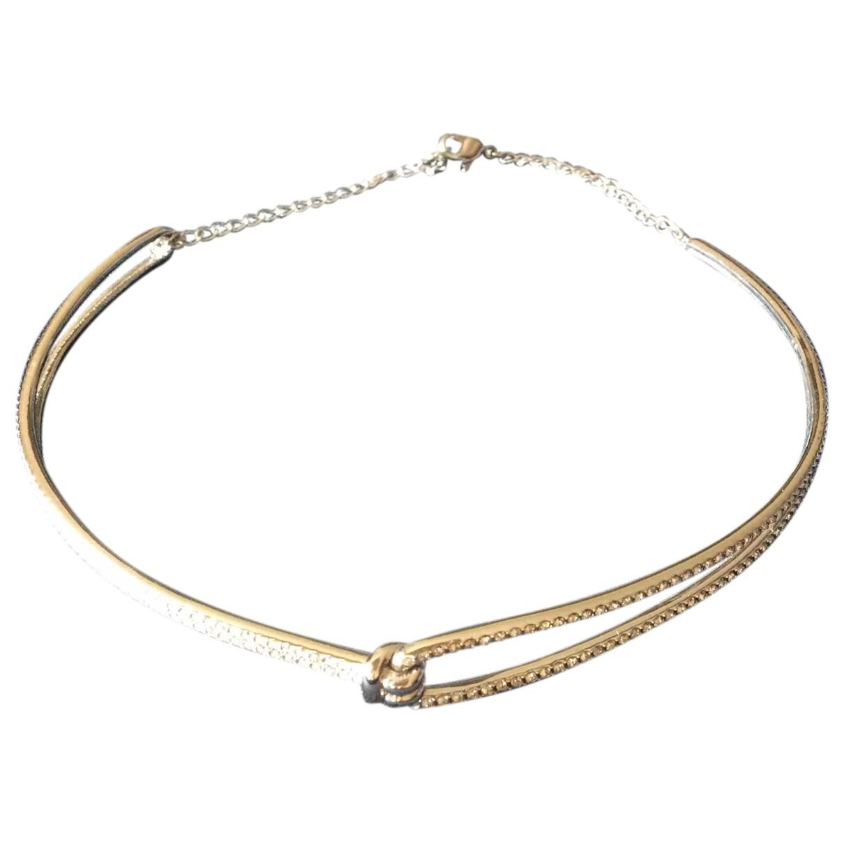 Swarovski N Silver Metal necklace for Women N