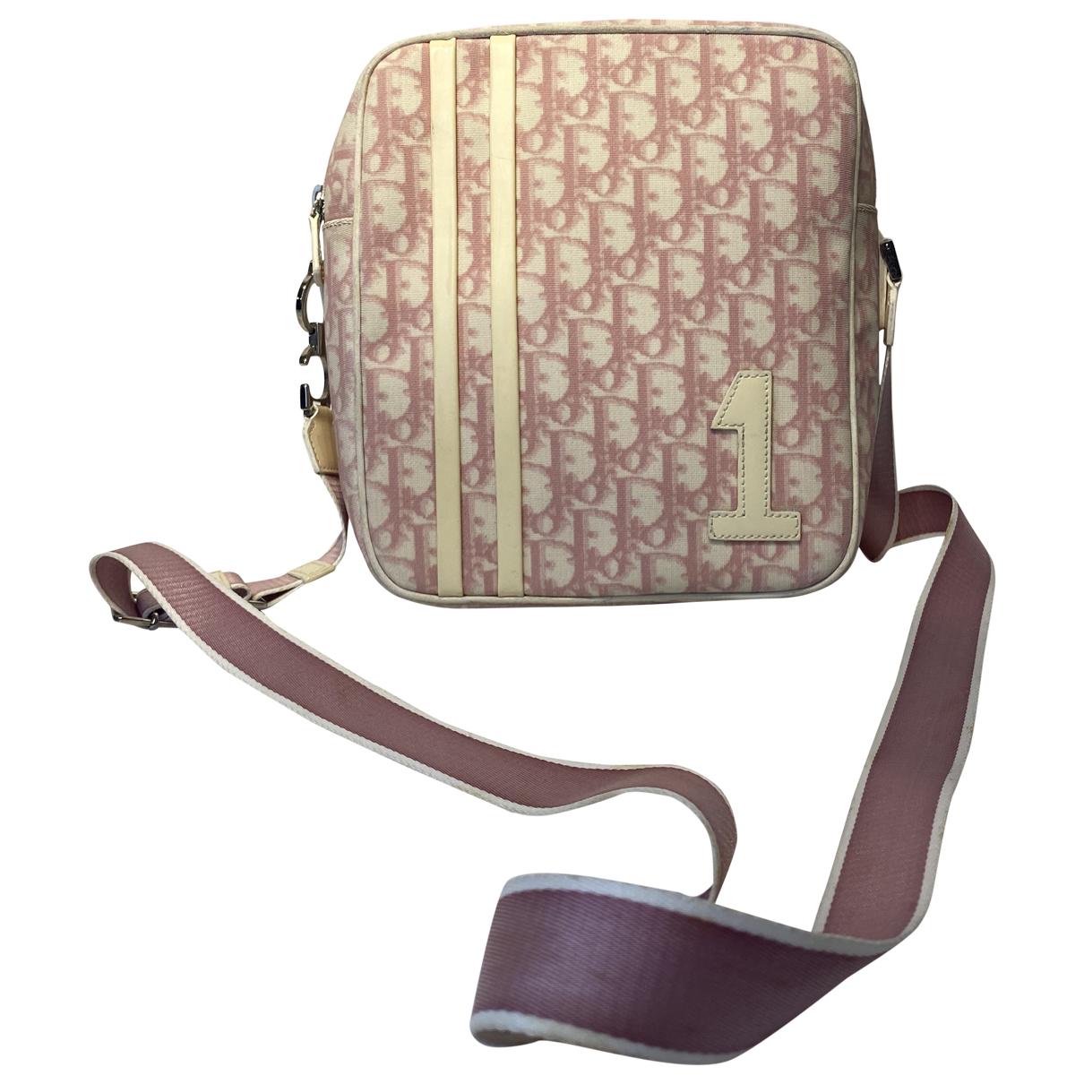 Dior N Pink Cloth handbag for Women N