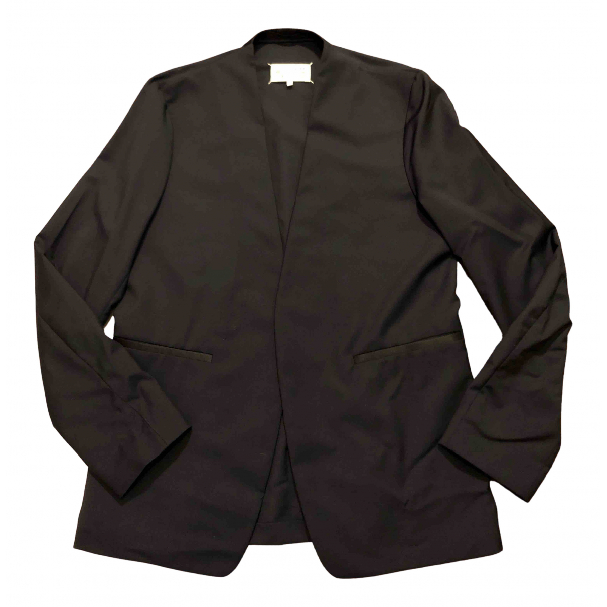 Maison Martin Margiela N Black Wool jacket  for Men 48 FR
