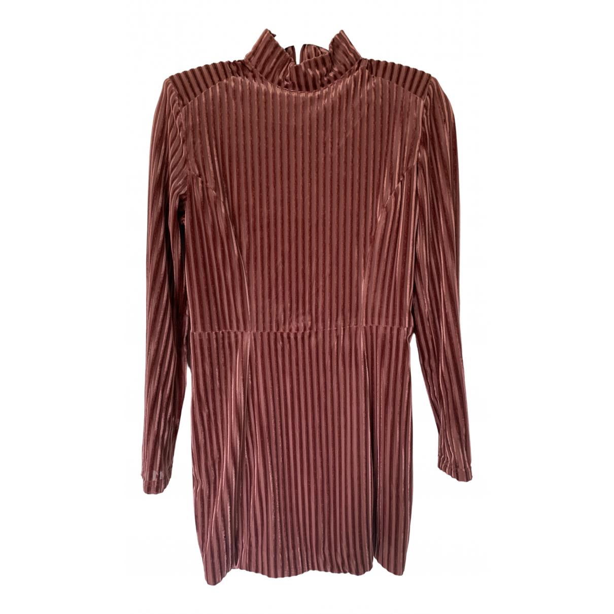 House Of Cb \N Pink Velvet dress for Women M International