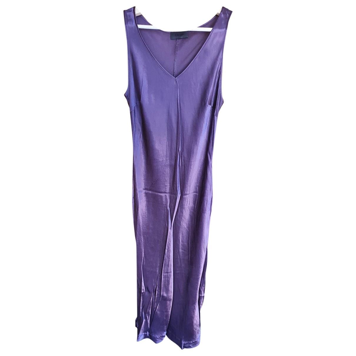 Liu.jo \N Kleid in  Lila Wolle