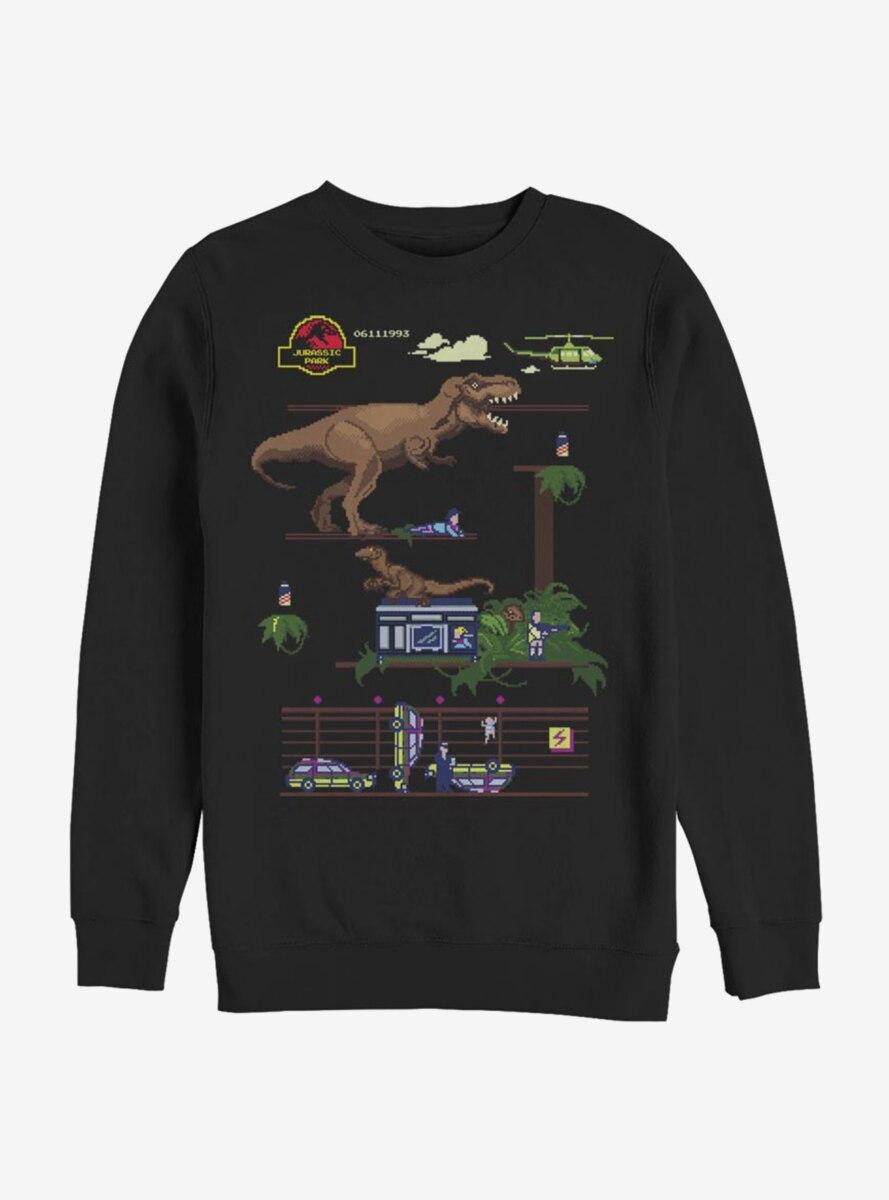 Jurassic Park Jurassic Bit Sweatshirt