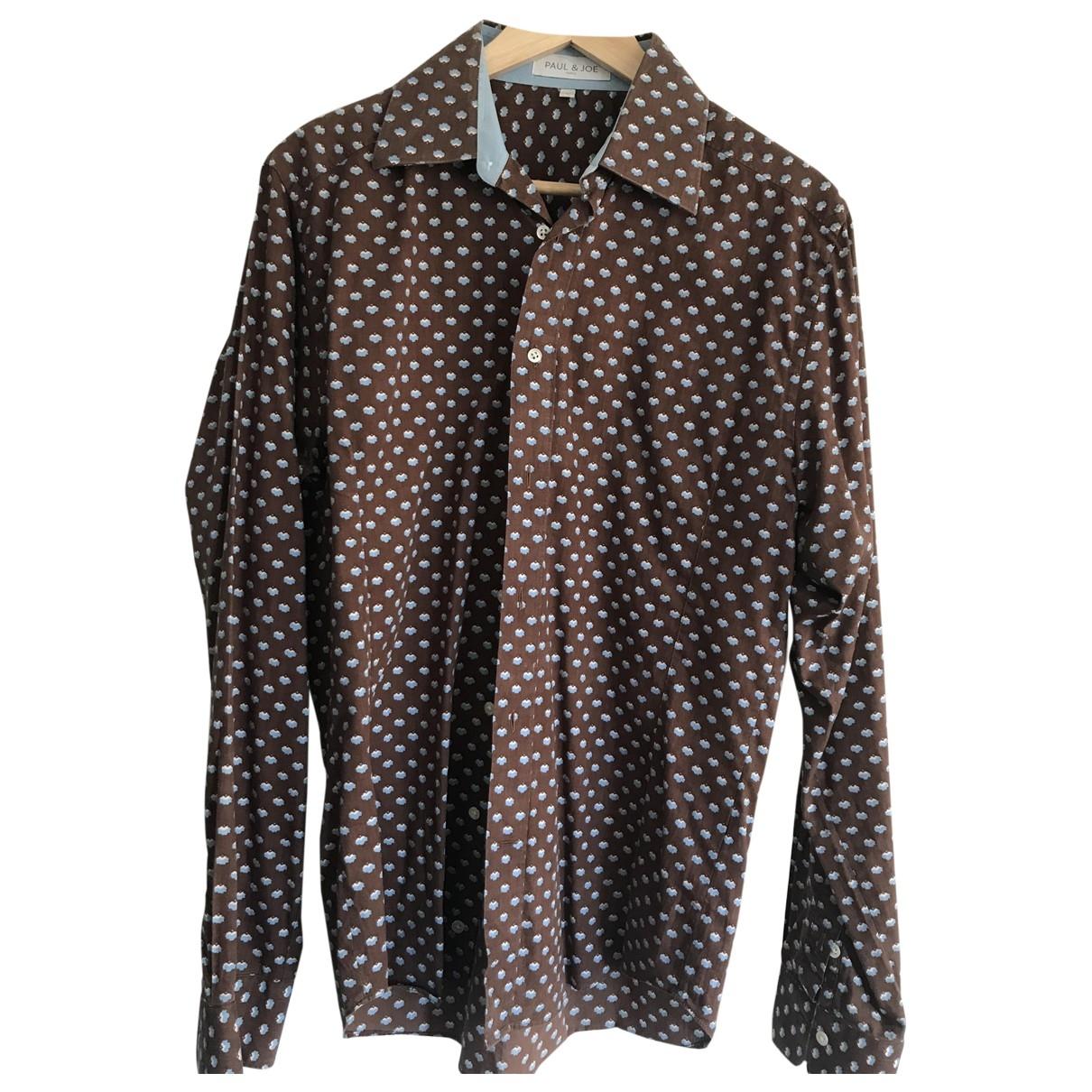 Paul & Joe - Chemises   pour homme en coton - marron