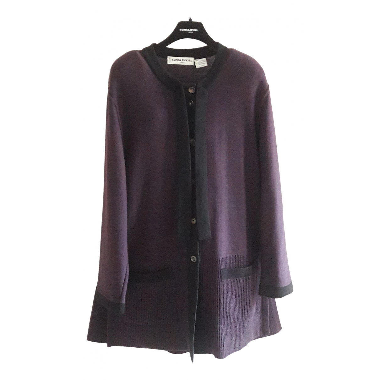 Sonia Rykiel \N Pullover in  Lila Wolle