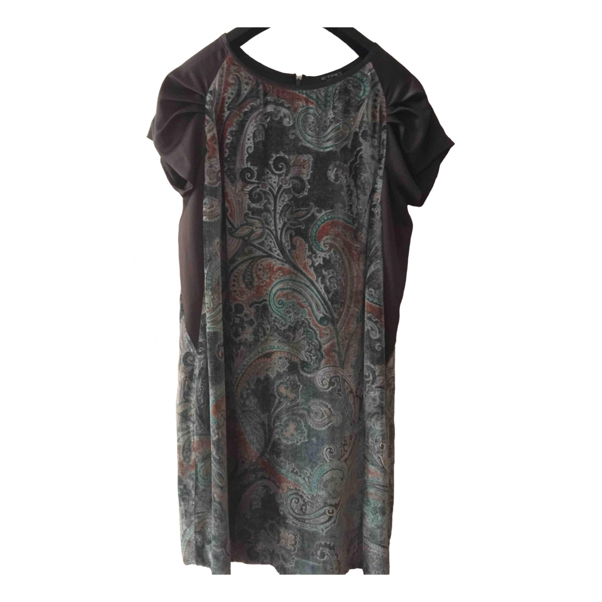 Etro \N Anthracite dress for Women 46 IT