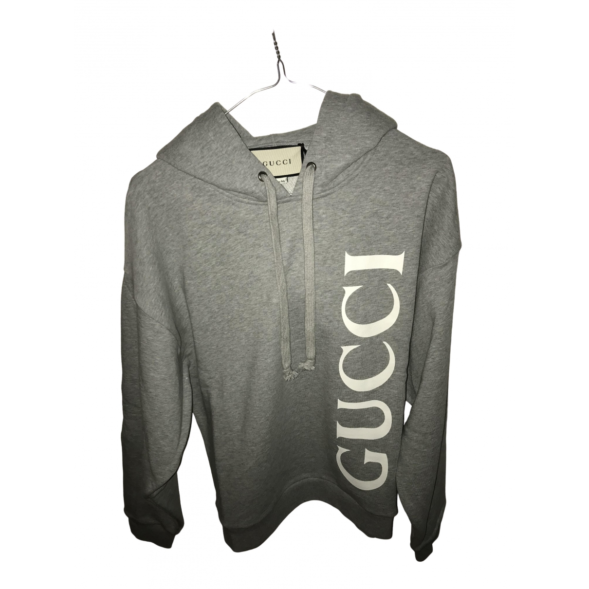 Gucci \N Grey Cotton Knitwear & Sweatshirts for Men XL International