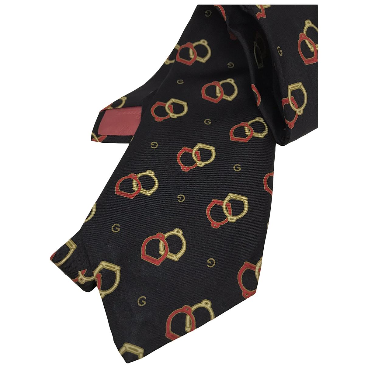 Gucci \N Krawatten in  Schwarz Seide
