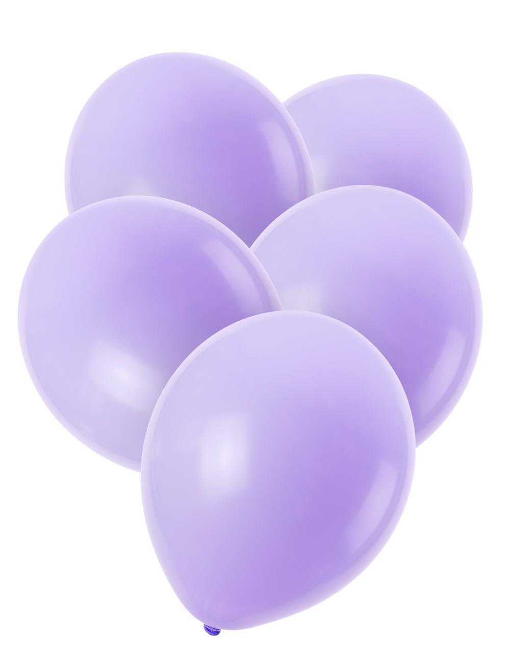 Luftballons lila 50 Stk.