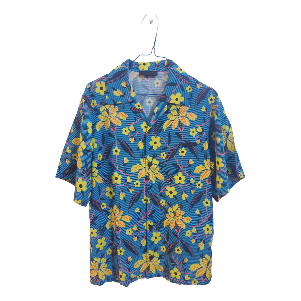Prada - Chemises   pour homme - bleu