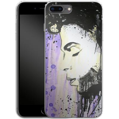 Apple iPhone 8 Plus Silikon Handyhuelle - Prince von Federica Masini
