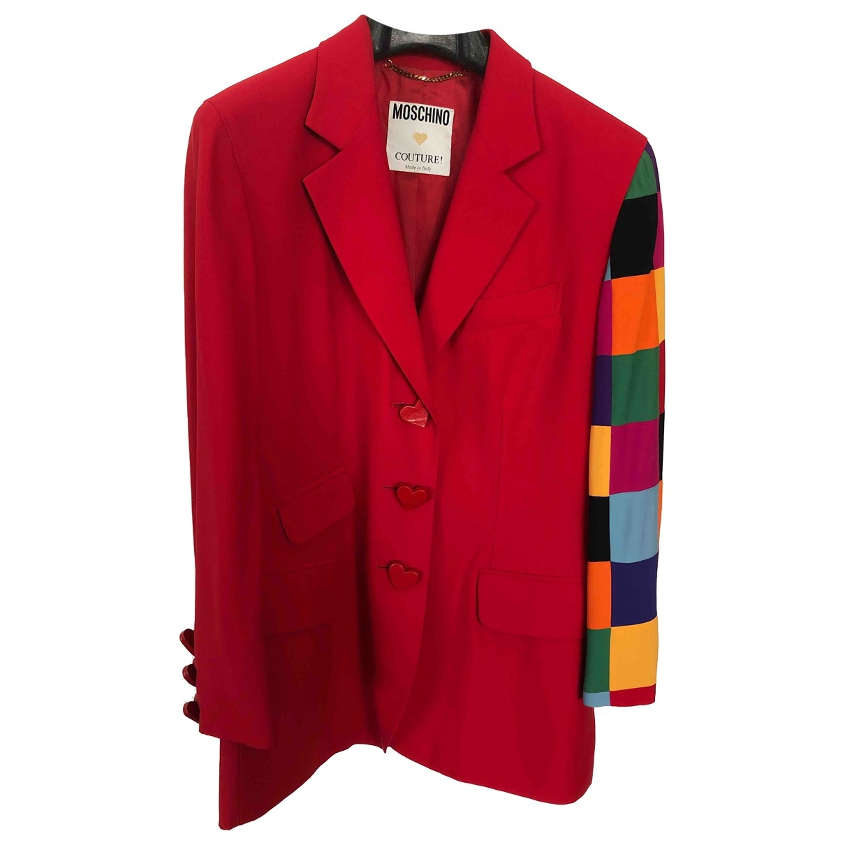Moschino \N Red jacket for Women 44 IT