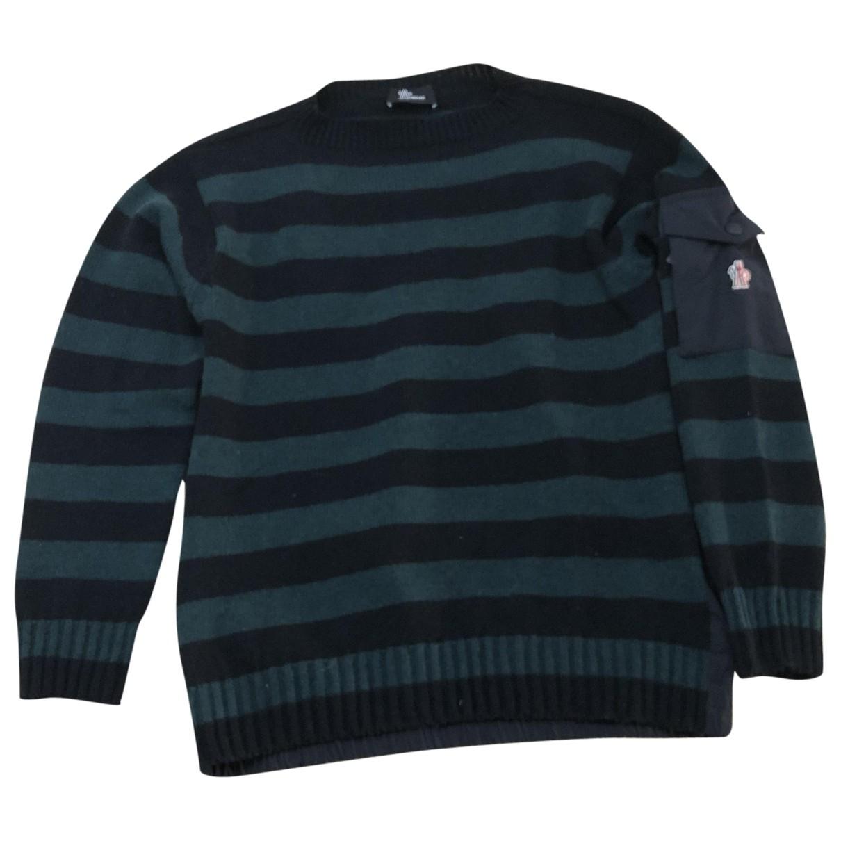 Moncler \N Green Wool Knitwear & Sweatshirts for Men L International