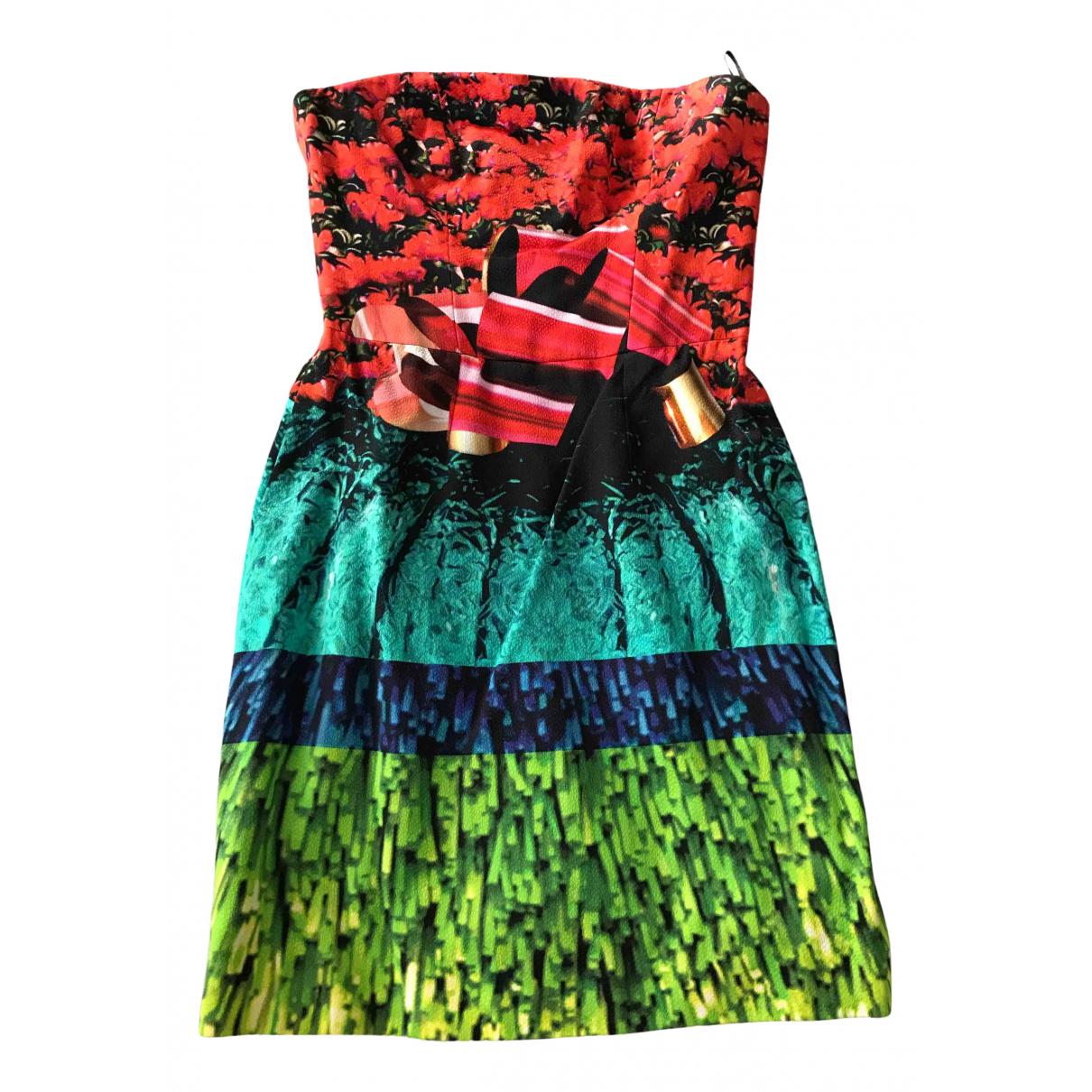 Mary Katrantzou \N Kleid in  Bunt Viskose