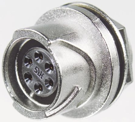Hirose Connector, 12 contacts Panel Mount Miniature Socket, Solder IP67, IP68