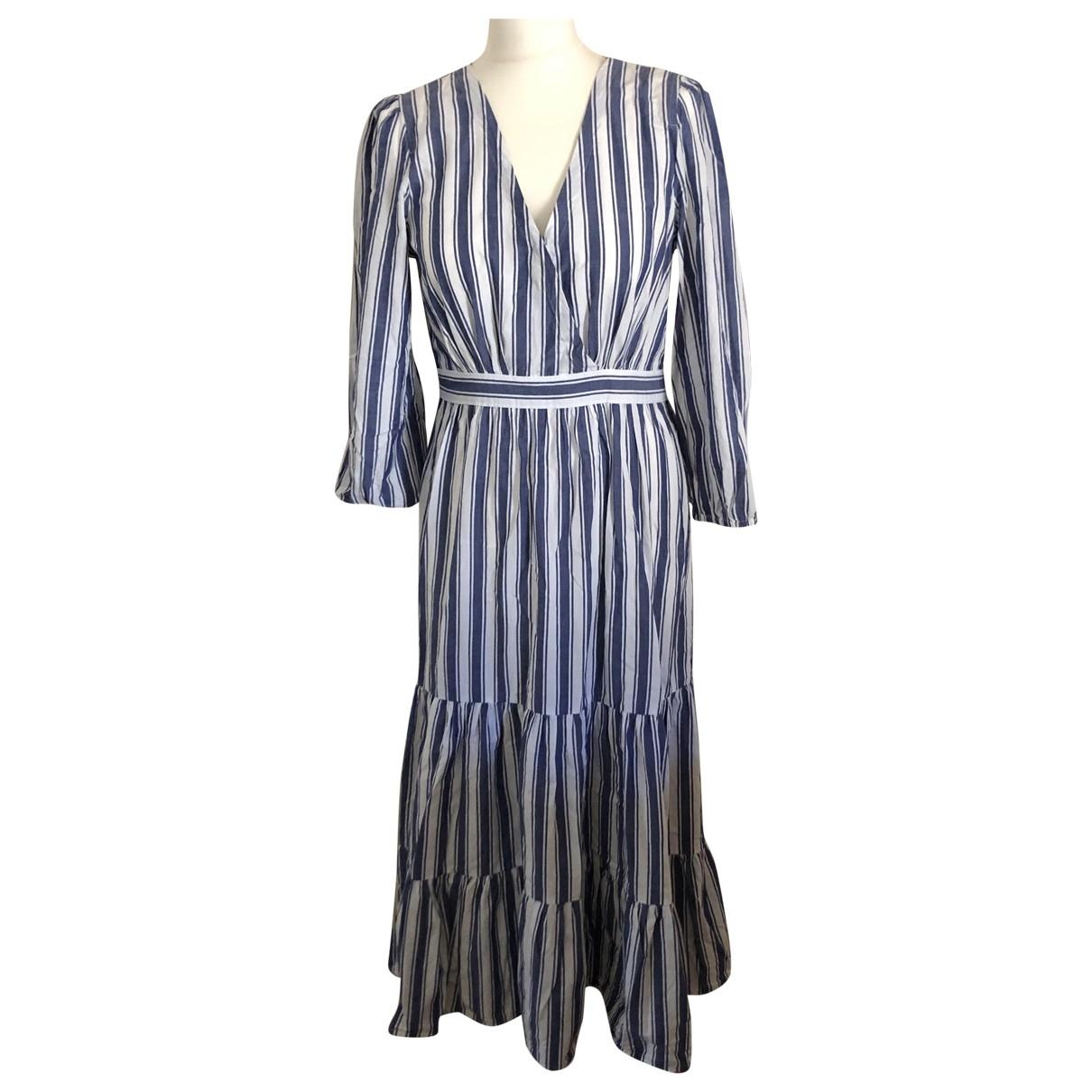 Madewell \N Kleid in  Weiss Baumwolle