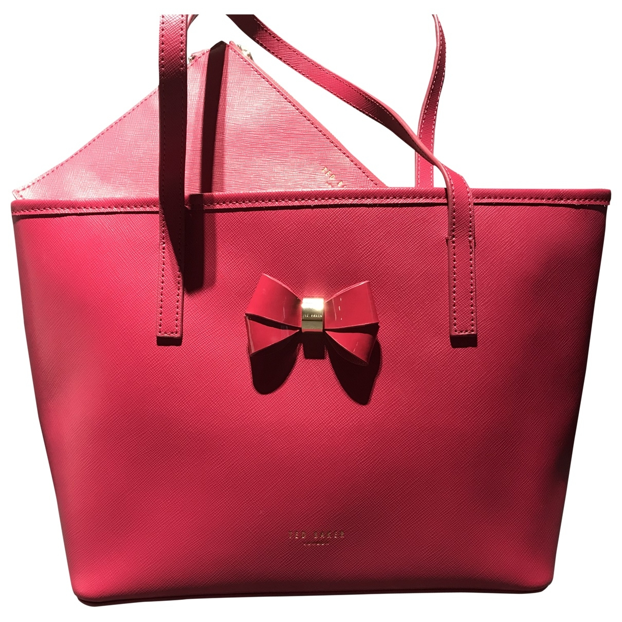 Ted Baker \N Pink Leather handbag for Women \N