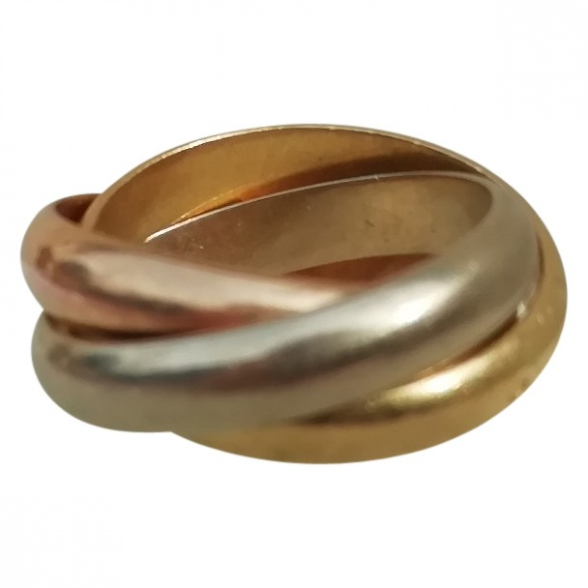 Cartier Trinity Multicolour Yellow gold ring for Women \N