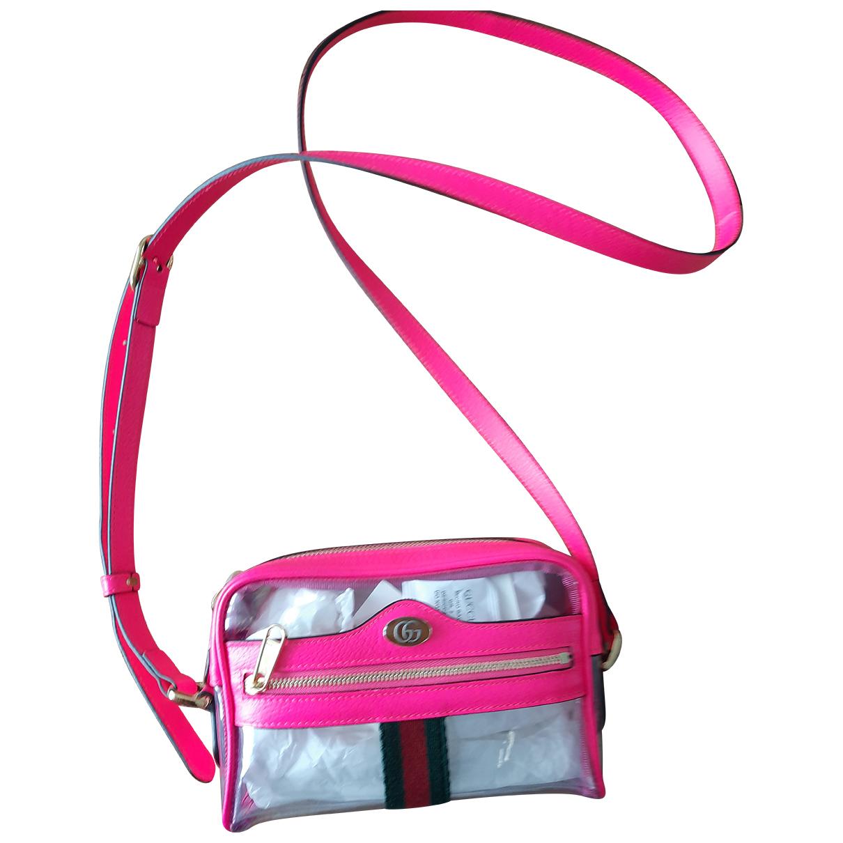 Gucci - Pochette Ophidia pour femme - rose