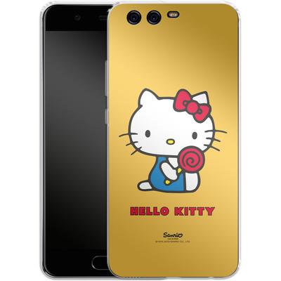 Huawei P10 Silikon Handyhuelle - Hello Kitty Lollipop von Hello Kitty