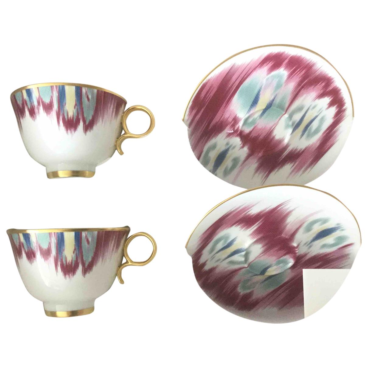 Hermes - Arts de la table   pour lifestyle en porcelaine - rose