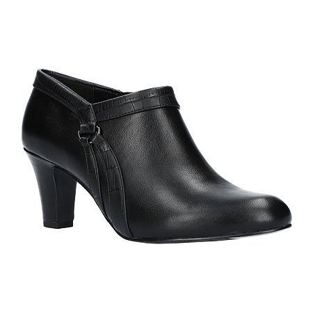 Easy Street Womens Nikita Pumps Spike Heel, 8 Wide, Black