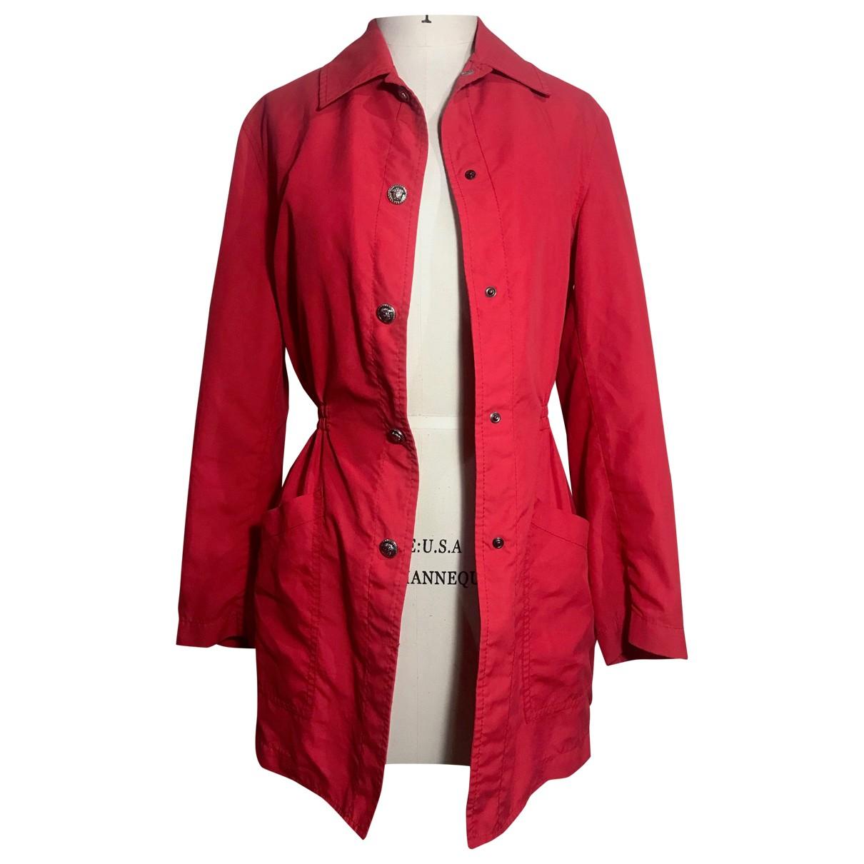 Versace Jean - Manteau   pour femme - rouge