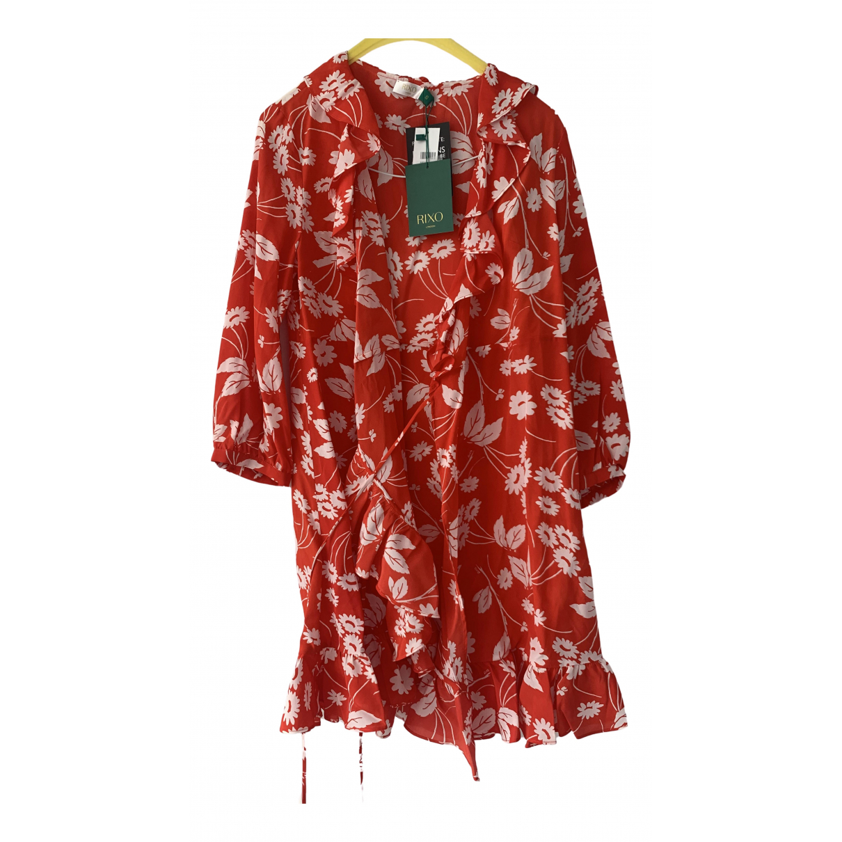 Rixo \N Red Silk dress for Women 8 UK