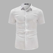 Men Collared Solid Shirt