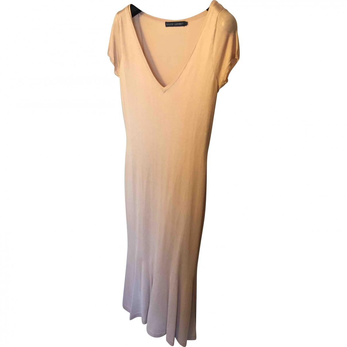 Ralph Lauren \N Kleid in  Rosa Seide
