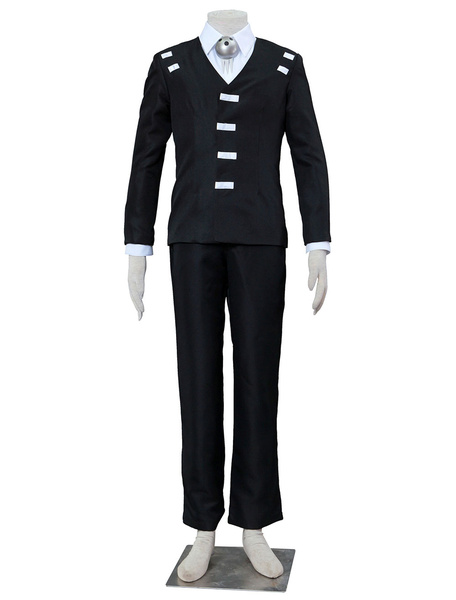 Milanoo Soul Eater Death The Kid Halloween Cosplay Costume Halloween