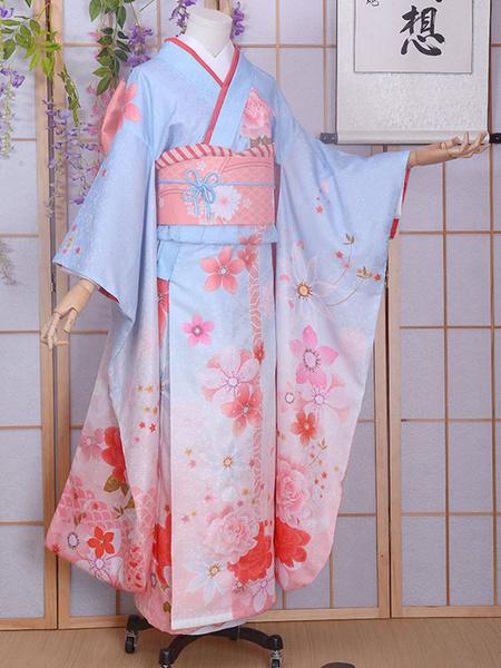 Milanoo Fate Type Moon Saber Cosplay Costume Kimono Version Halloween