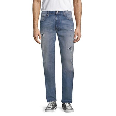 Arizona Mens Athletic Fit Jean, 31 34, Blue