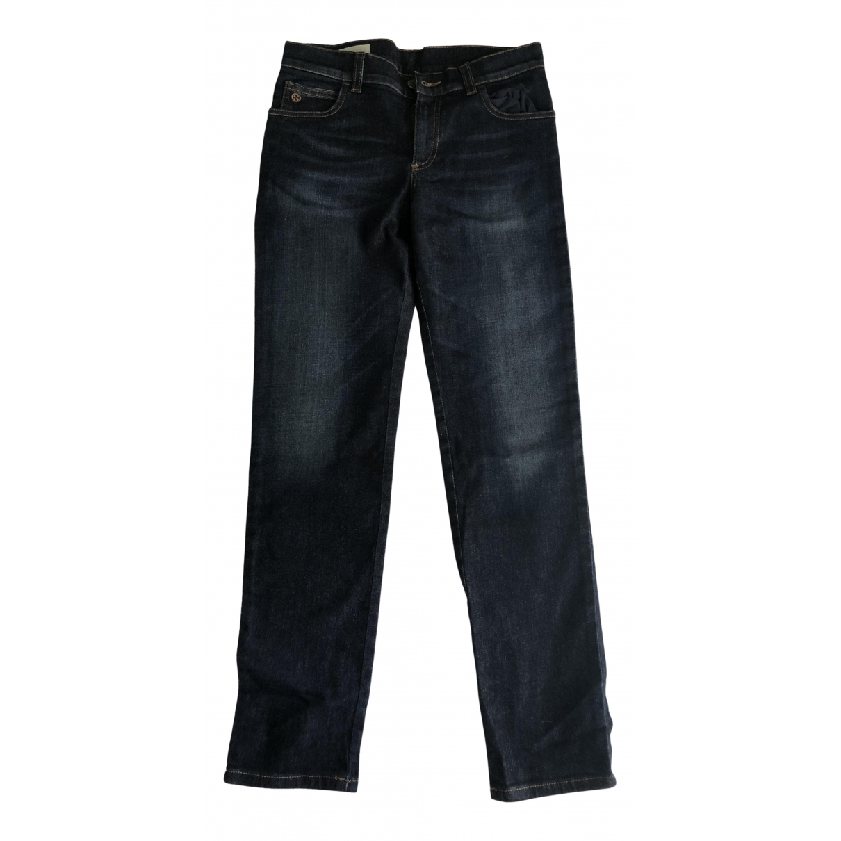 Gucci \N Blue Denim - Jeans Trousers for Kids 10 years - up to 142cm FR