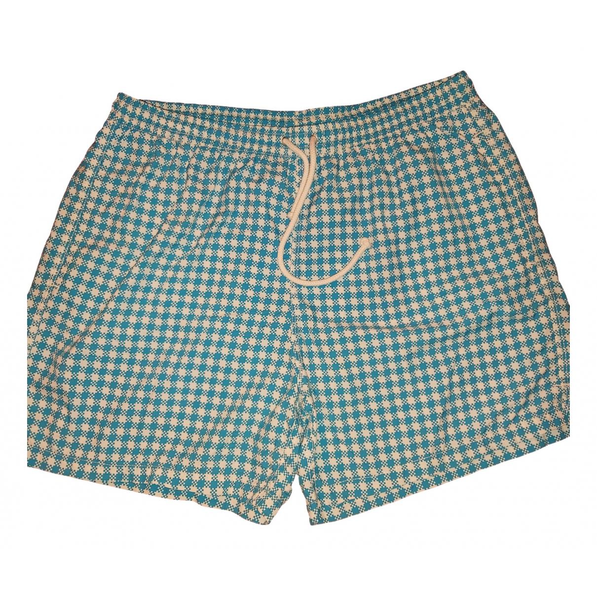 Kiton \N Blue Swimwear for Men 52 IT