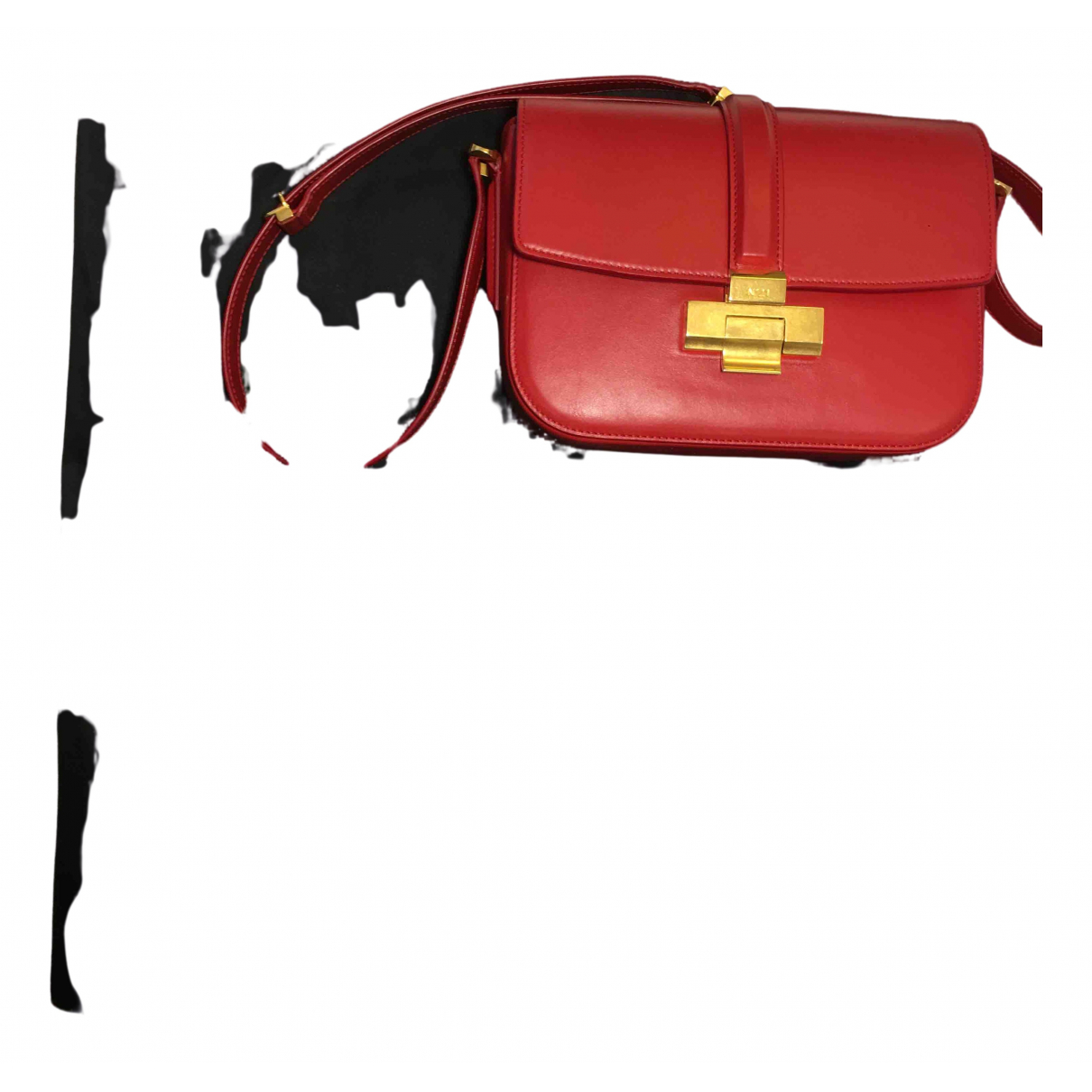 N°21 \N Handtasche in  Rot Leder