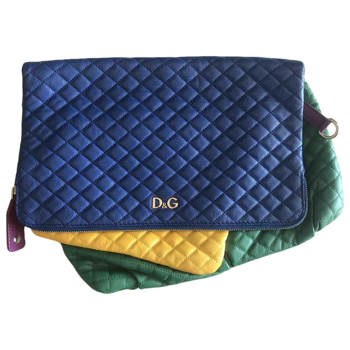 Dolce & Gabbana - Pochette   pour femme en cuir - multicolore