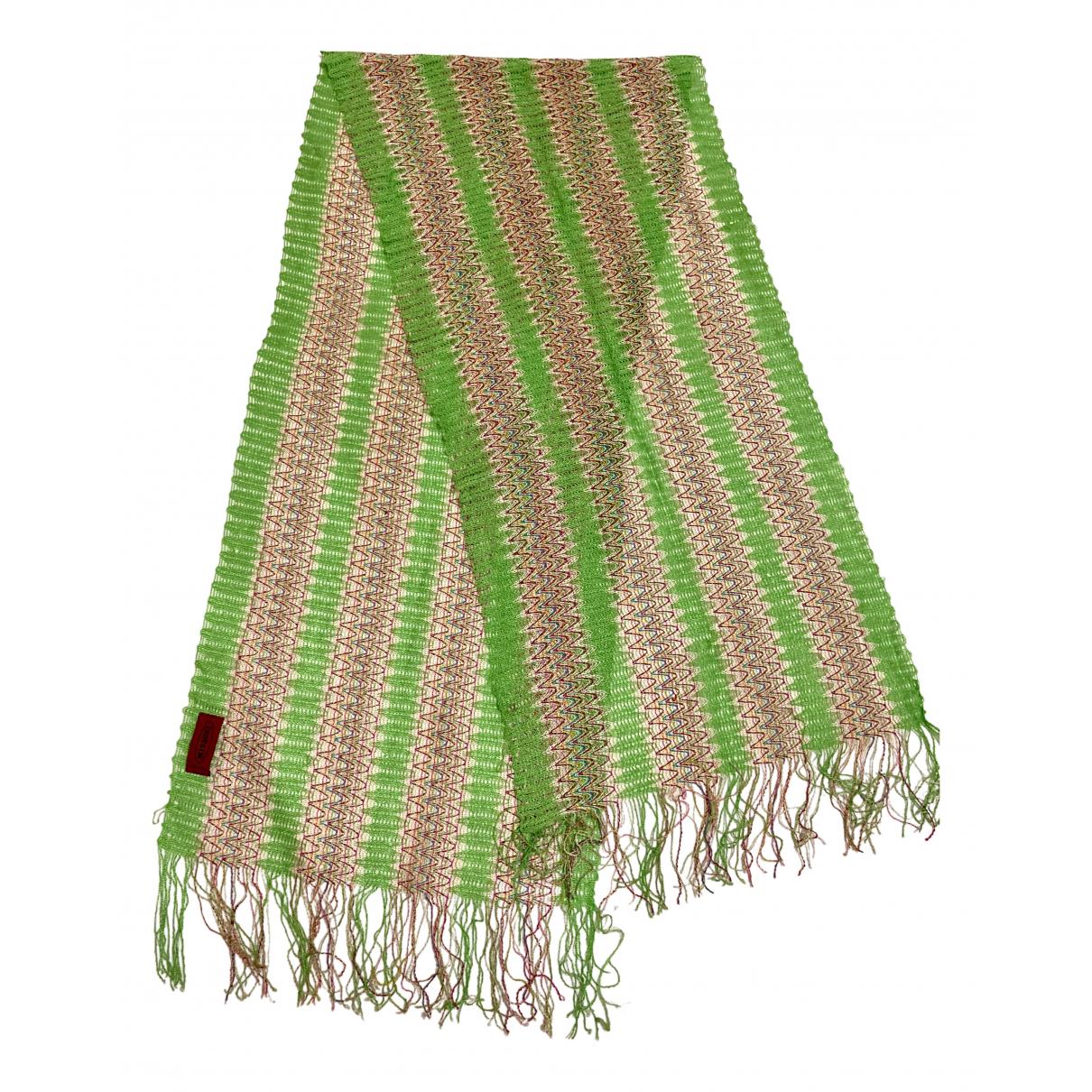 Missoni - Foulard   pour femme - vert