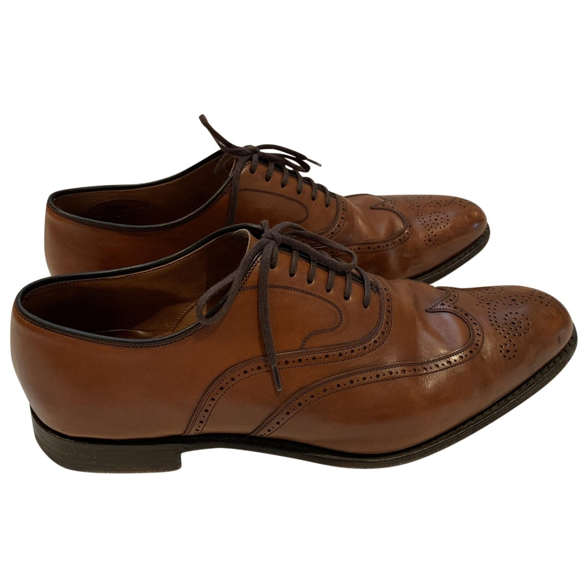 Church's \N Brown Leather Lace ups for Men 43 EU