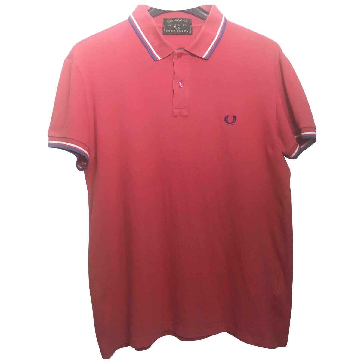 Polo en Algodon Rojo Fred Perry
